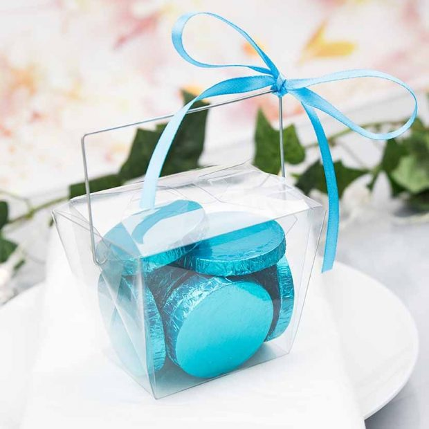 clear chinese take out favour box