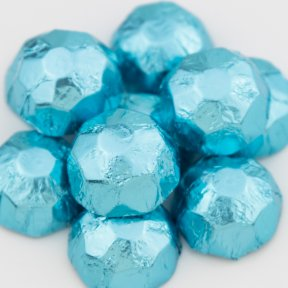 Ice Blue Chocolate Diamonds