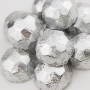 Silver Chocolate Diamonds
