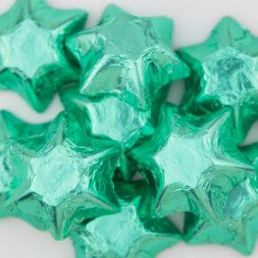 Ice Green Chocolate Stars