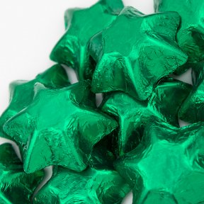 Green Chocolate Stars