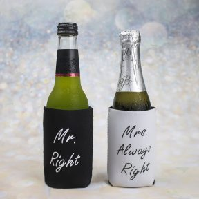 Mr Right & Mrs Always Right Coolers