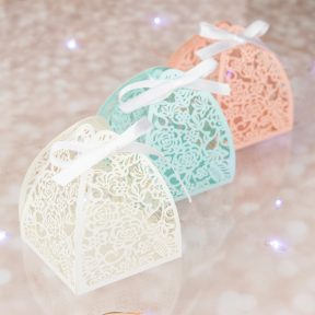 Filigree Floral Favour Box