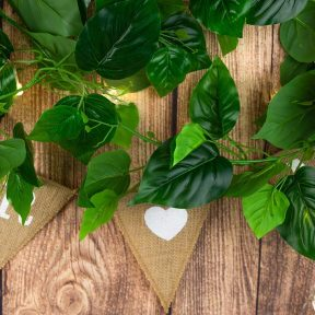 Decorative Large Green Leaf Garland
