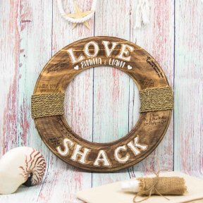 Love Shack Signature Buoy