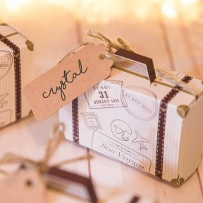 Mini Suitcase Favour Box