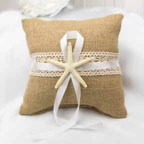 By The Sea Ring Pillow
