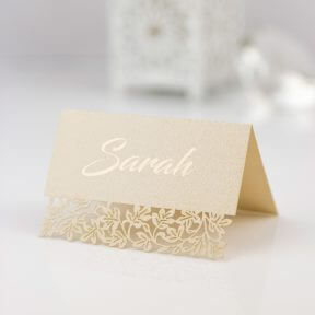 celebration name place cards