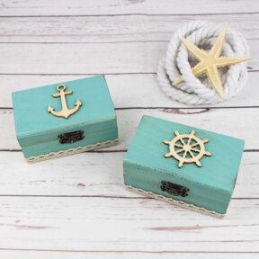 Nautical Wedding Ring Boxes