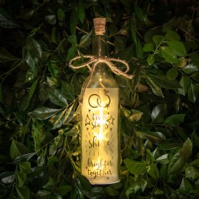 Wishlight Bottle Two Stars