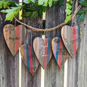 String Of Signature Hearts