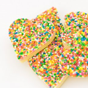 White Chocolate Happy Hearts