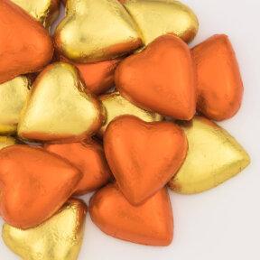 Autumn Mix Chocolate Hearts