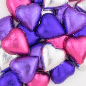 blossom mix chocolate hearts