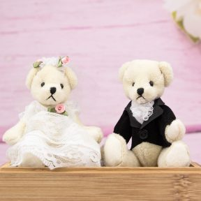 Bride and Groom Mini Bears