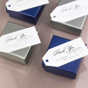 Thank You For Sharing Our Special Day Favour Cards