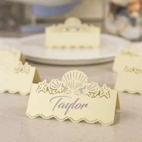 Seashells Name Place Cards
