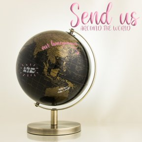 Gold Guest Signing Globe - Small