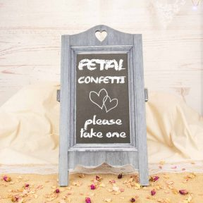Vintage Wedding Chalkboard
