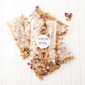 Blushing Roses Confetti Bags