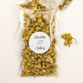 Chamomile Flower Confetti Bags