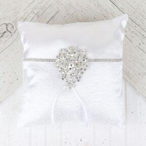 Alluring Gems Ring Pillow