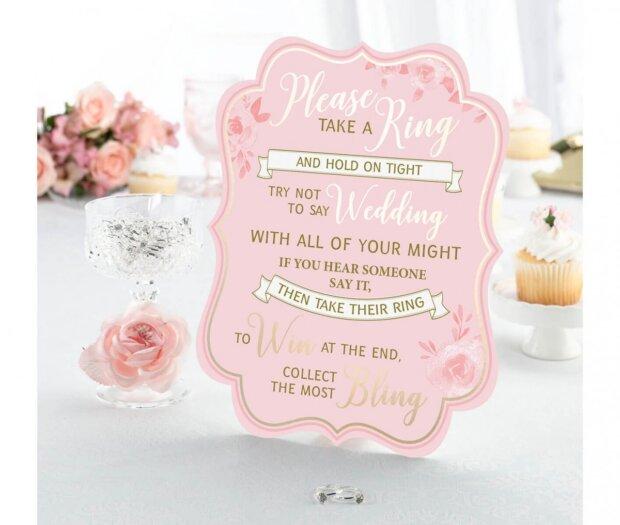 Bridal Shower Ring Game