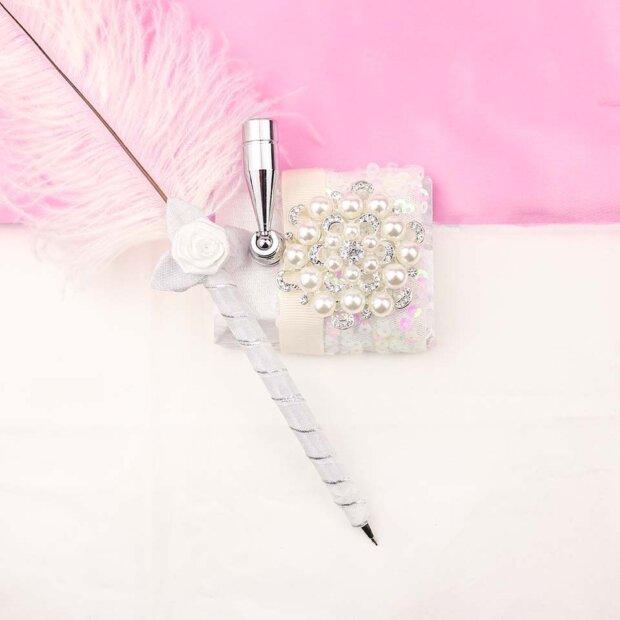 Valentino Designer Feather Pen