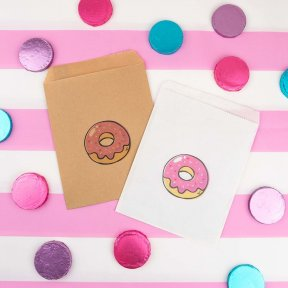 Delicious Donut Cake Bags