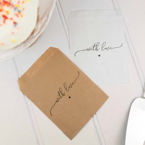 With Love Cake Bags
