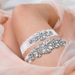 Vogue Bridal Garter Set