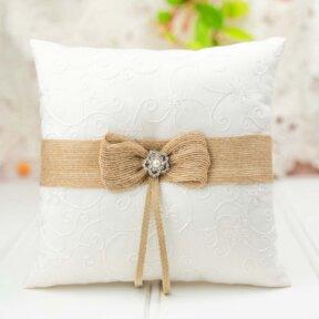 Rustic Ring Pillow