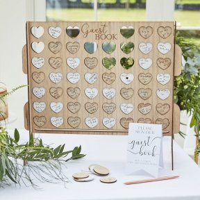 Connect Four Guest Book