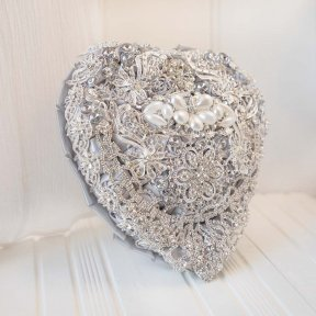 Silver Regal Wedding Bouquet