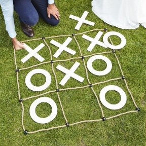 Noughts and Crosses Wedding Game