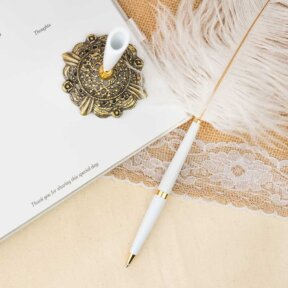 Feather Pens and Wedding Pens