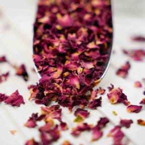 Rose Petals and Wedding Confetti