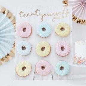 Treat Yourself Donut Wall