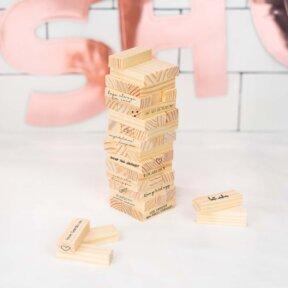 Mini Wooden Blocks Guest Book