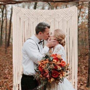 Macrame Daydream Wedding Backdrop