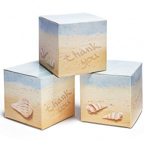 seaside jewel favour box