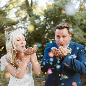 Wedding Confetti and Confetti Poppers