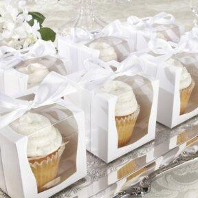 White Deluxe Cupcake Box