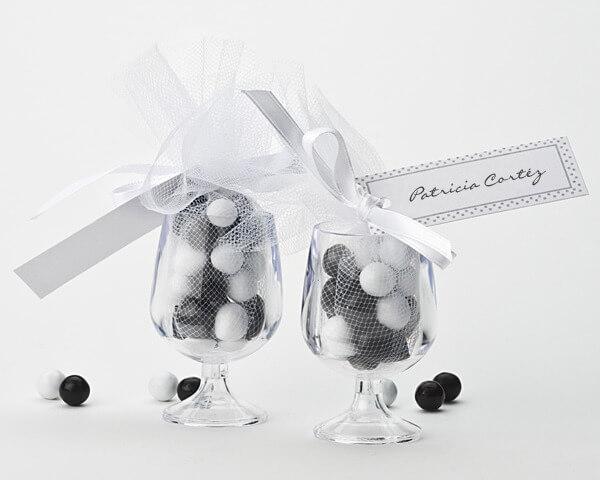Mini Champagne Glass Favour