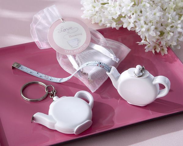 Teapot Measuring Tape Love Is Brewing