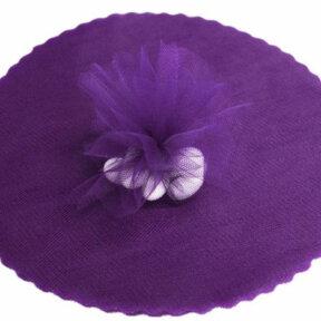 Purple Tulle Circles