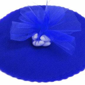 Royal Blue Tulle Circles