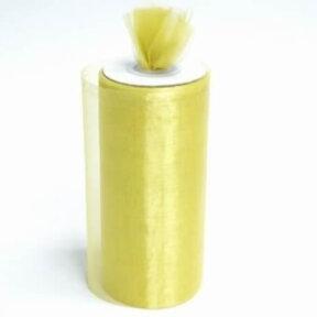 Gold Shimmering Organza Rolls