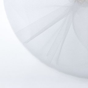 White Tulle Circles