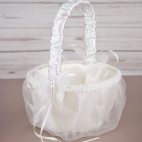 Butterfly Flower Girl Basket